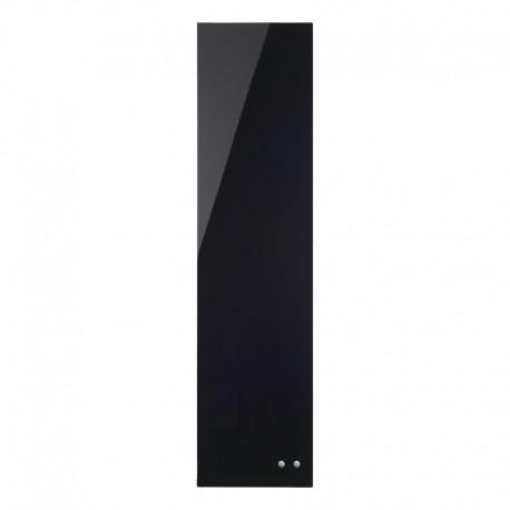 Glastavla 20x80cm Magn, Svart