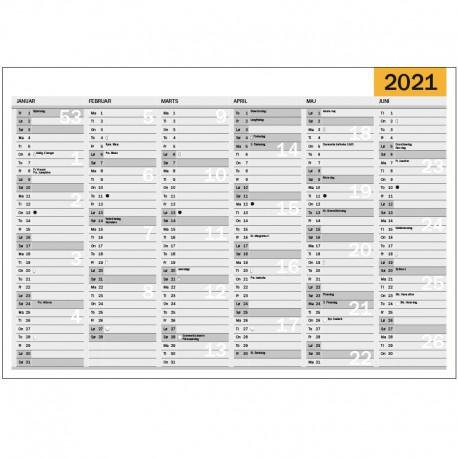 Väggkalender A3, 2021