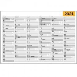 Väggkalender A5, 2021