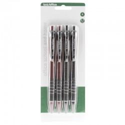Stiftpenna 0,7 Blister, 4st
