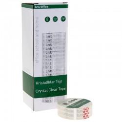 Kristallklar tejp 33mtr x 19mm