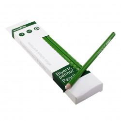 Blyertspenna HB 12st, Grön