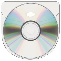 Självhäftande CD fickor, 6st