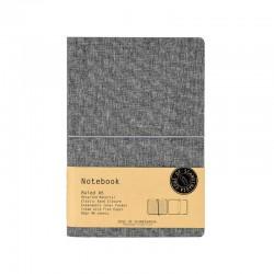 Notebook A5 linjerad, Grå