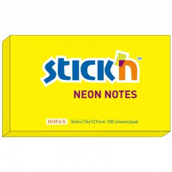 Neonblock 100b 76x127, Gul