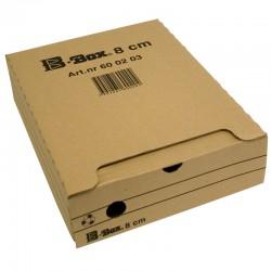 Arkivbox B-Box 8cm, Brun