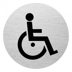 Dörrskylt WC, Handikapp
