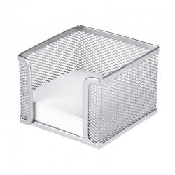 Blockask 10x10cm, Silver