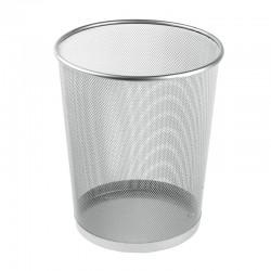 Papperskorg Liten, 11L Silver