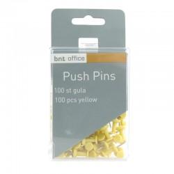 Push Pins 100st, Gul