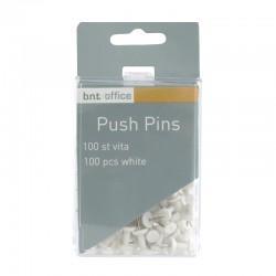 Push Pins 100st, Vit