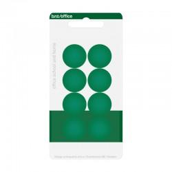 Magneter 20mm 8st, Grön