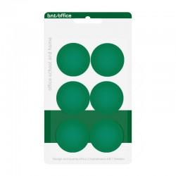 Magneter 30mm 6st, Grön
