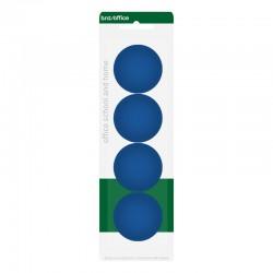Magneter 40mm 4st, Blå
