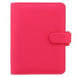 Saffiano Fluoro Pocket Pink