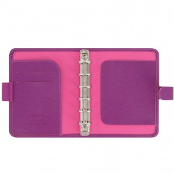 Saffiano Pocket, Raspberry