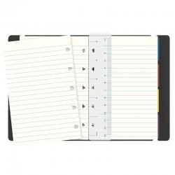 Pocket Notebook Linj. Black