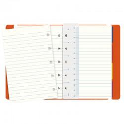 Pocket Notebook Linj. Orange