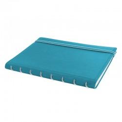A5 Notebook Linjerad, Aqua