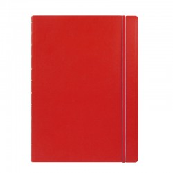 A4 Notebook Linjerad, Red