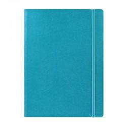 A4 Notebook Linjerad, Aqua