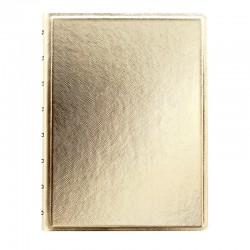 A5 Notebook Saffiano, Gold