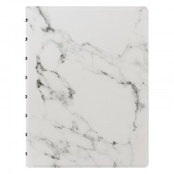 Patterns A5 Notebook Marble