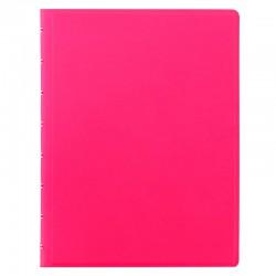 Saffiano A5 Notebook Pink