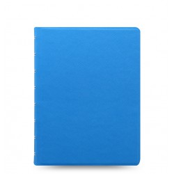 Notebook A5 Saffiano Blue