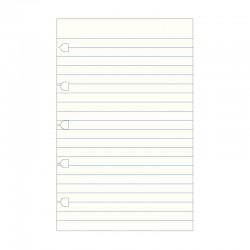 Pocket Notebook Refill, Linj.