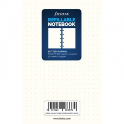 Pocket Notebook Dotted Refill