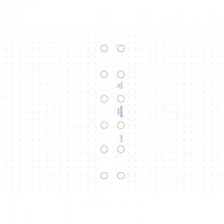 Pocket Organiser Dotted Paper