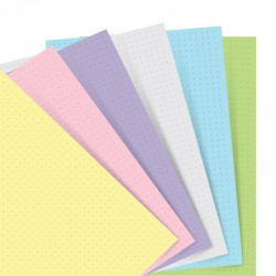 Pers Organiser Dotted Pastel