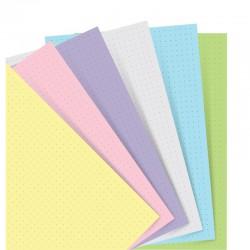 Pastel A5 Notebook refill Dott