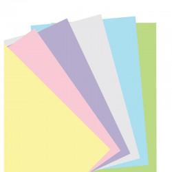 Pastel A5 Notebook refill Plai