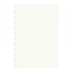 A4 Notebook Refill, rutat