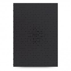 A4 Notebook Icon Black