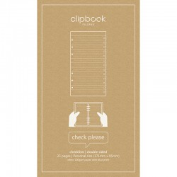 Clipbook Pers Refill Check
