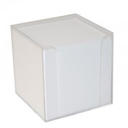 Block Kub / Hållare, Vit