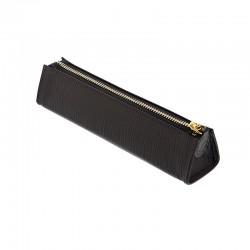 Chester Zipped Pen Case, Black