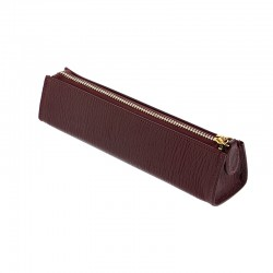 Chester Zipped Pen Case, Red