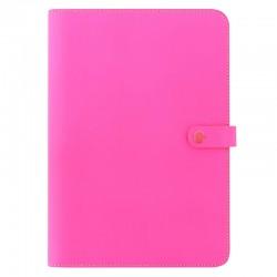 The Original A4 Folio Flu.Pink
