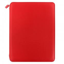 Metropol A4 Zip Folio Red