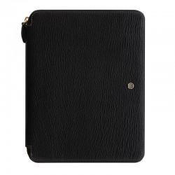 Chester A5 Zip Folio, Black