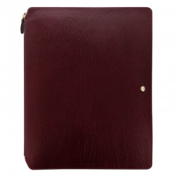 Chester A4 Zip Folio, Red
