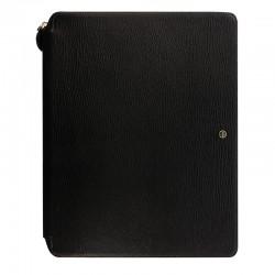 Chester A4 Zip Folio, Black
