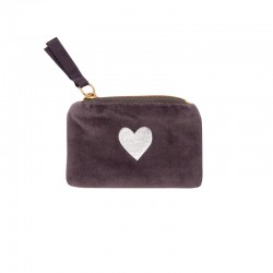 Plånbok Silver Hjärta