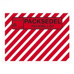 Packsedel/Packlist C6Z 1000/fp