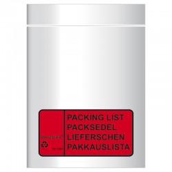 Packsedel C8 4 språk 1000/fp