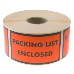 Varn.etk. Packinglist Encl.
